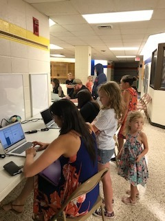Families enrolling at Riley County Grade School!