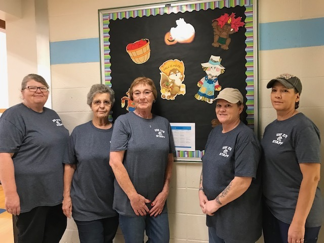 Grade School Food Service Staff