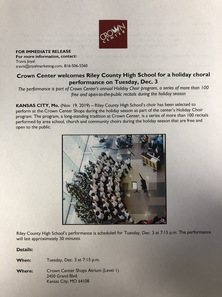 Crown Center Press Release